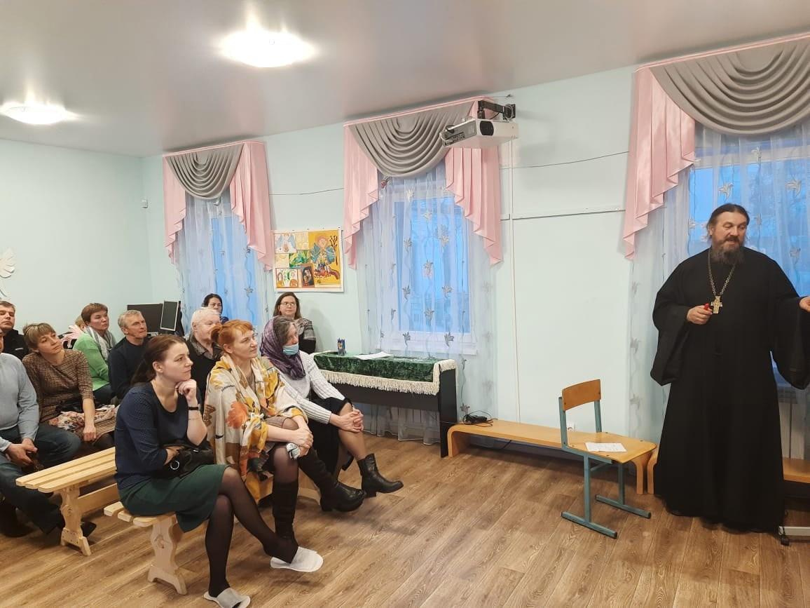 Встреча с протоиереем Ильей Шугаевым