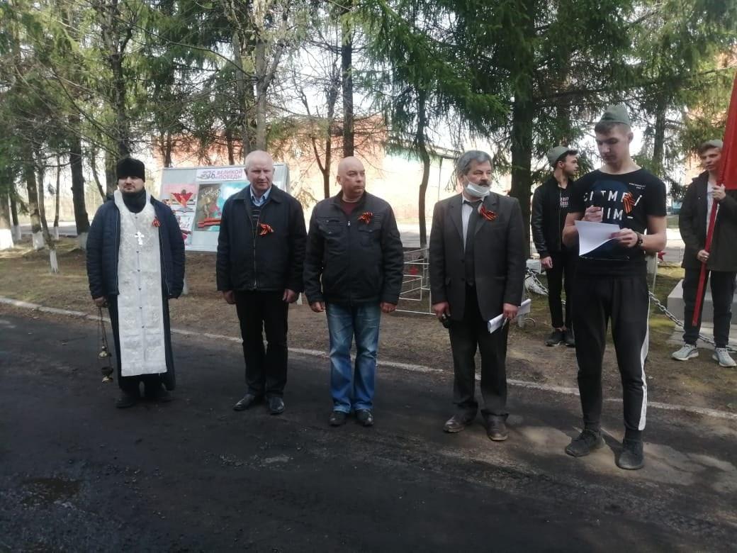 Священник Георгий Курдогло отслужил литию по погибшим в Великую Отечественную войну воинам